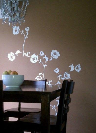 """Adesivo murale wall sticker """"albero con farfalle""""   misure 207x160 ..."""