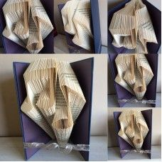 Musical Notes Book Folding Pattern