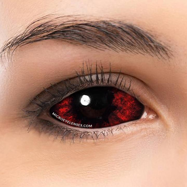 microeyelenses.com Molten Bloody Lava 22mm Scleral Colored Contacts Lens #coloredeyecontacts#colorlenses #coloredeyecontacts