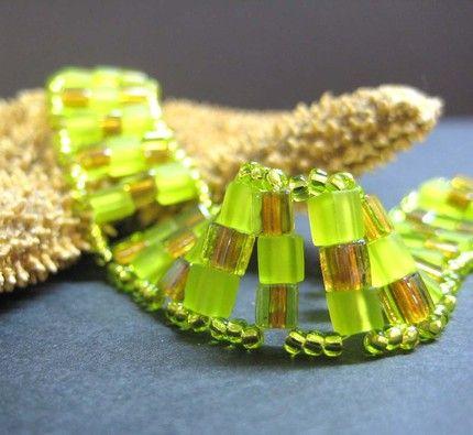 Glass Bead Bracelet  #CruiseInChartreuse