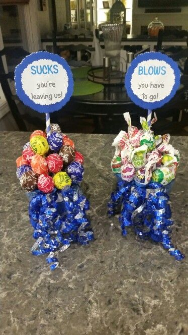 Going away party decor. Made these today :) | Retirement ...