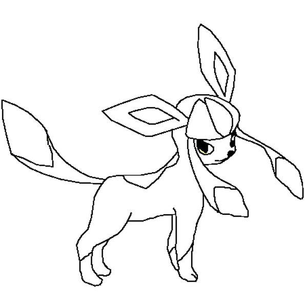 Le Dessin Représente Le Pokémon Givralibr Colorie Le