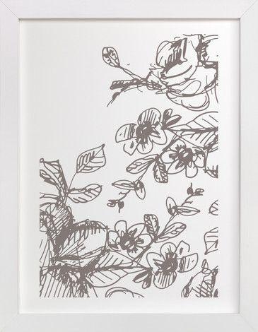 Botanical Sketch 2 by Phrosne Ras at minted.com