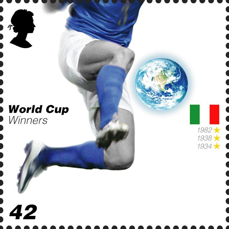 Royal Mail Special Stamps World Cup Winners Copa Del Mundo Sellos Copa Mundial De La Fifa