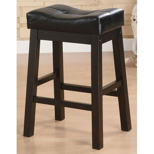 Coaster Furniture Sofie 24 Inch Upholstered Seat Bar Stool Set Of 2