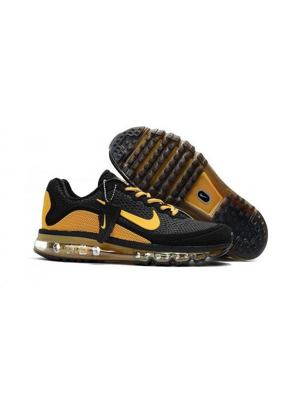 brand new 21c88 4b38c Nike Air Max 2017 Herr Svart Gul SE777072  Sneakers in 2019  Pinterest   Nike air max, Nike and Sneakers