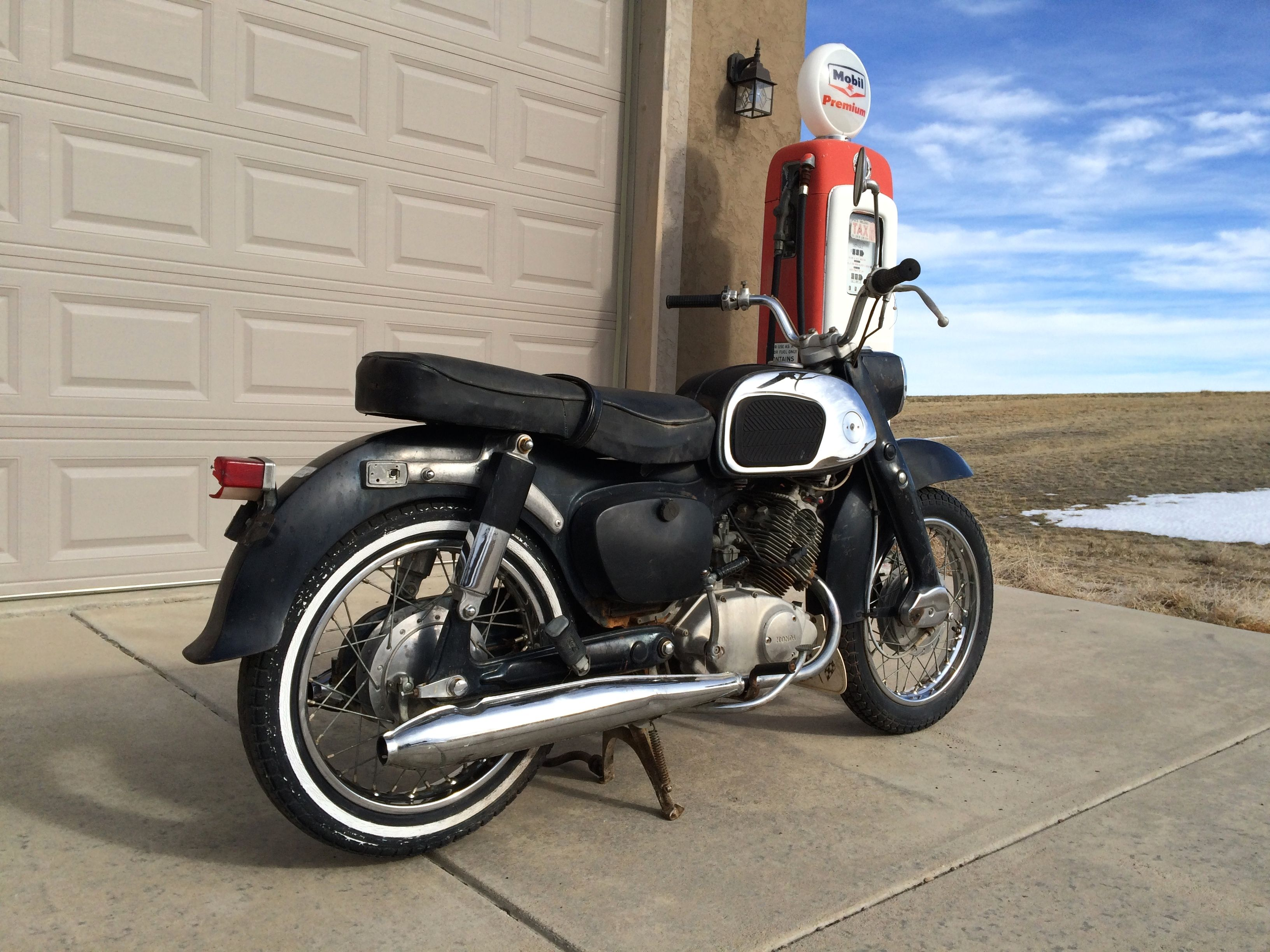 1965 Honda CA95 - 150cc 4spd. Will be used for parts to ...