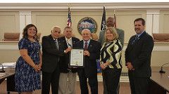 Hamilton Township Council Resolution Honors Atlantic Cape's 50th Anniversary…
