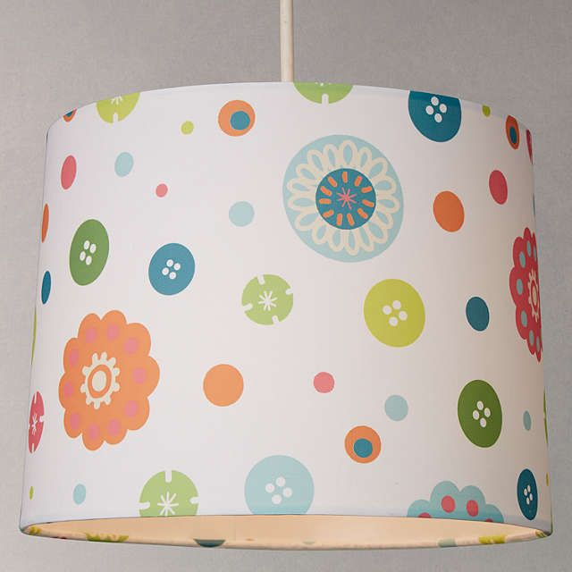 Buylittle Home At John Lewis Birds & Buttons Lampshade