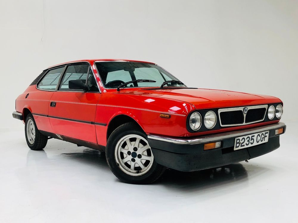1984 Lancia Beta Hpe 2000 Very Rare Car Project Only One For