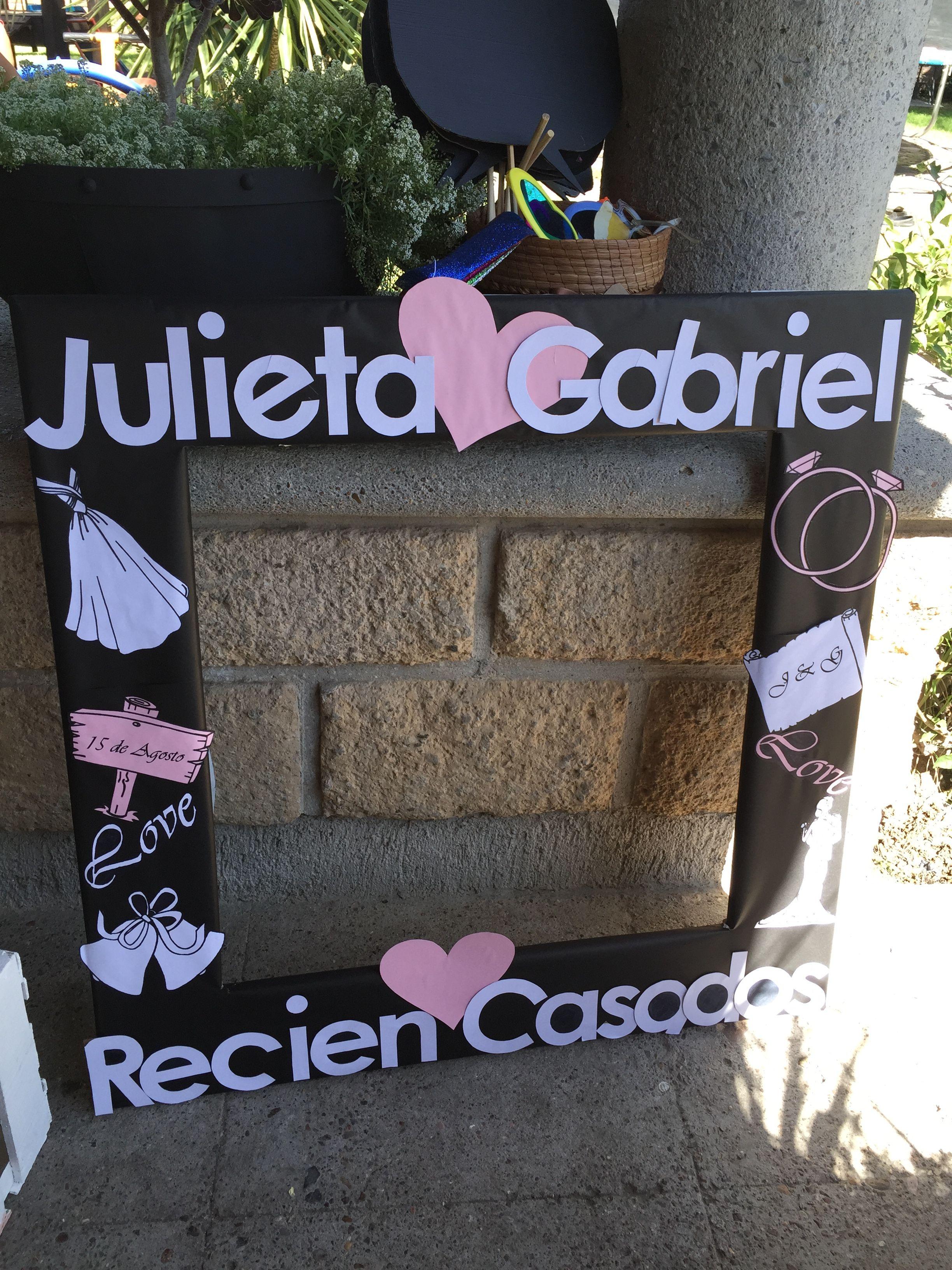 Marco gigante boda | Wedding | Pinterest | Marcos, Boda y Marcos ...