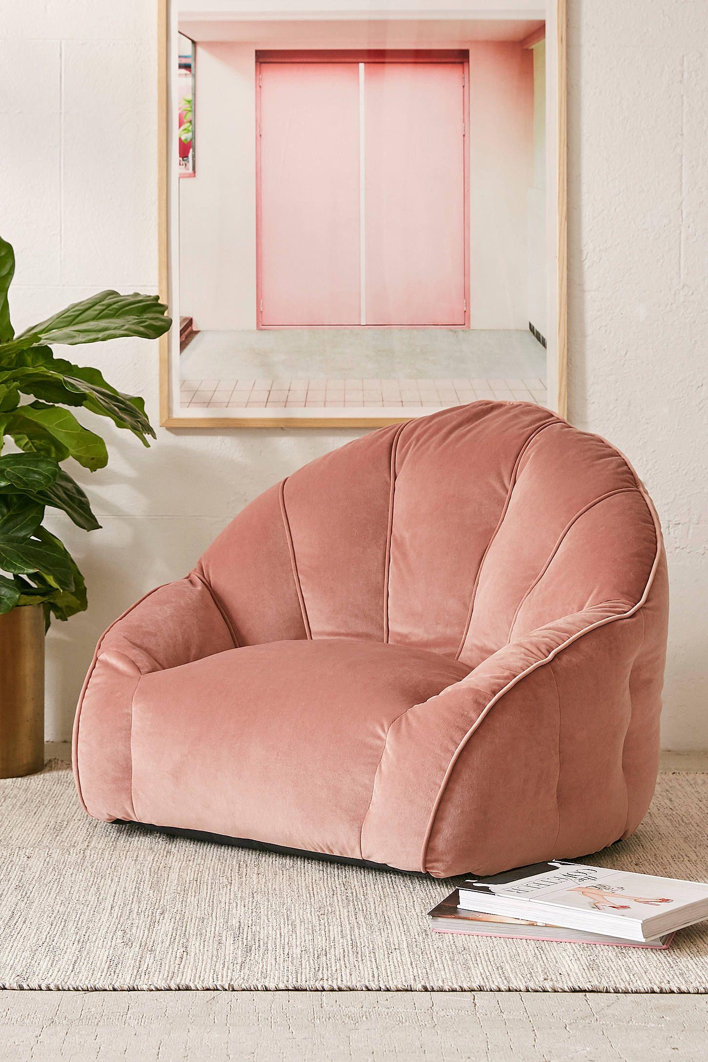 Cosette Velvet Lounge Chair