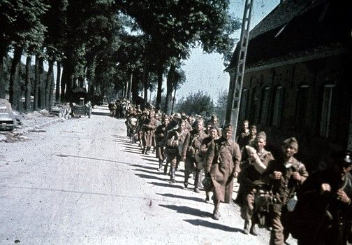 Battle Of France 1940 Color Photo Pin By Paolo Marzioli Photo