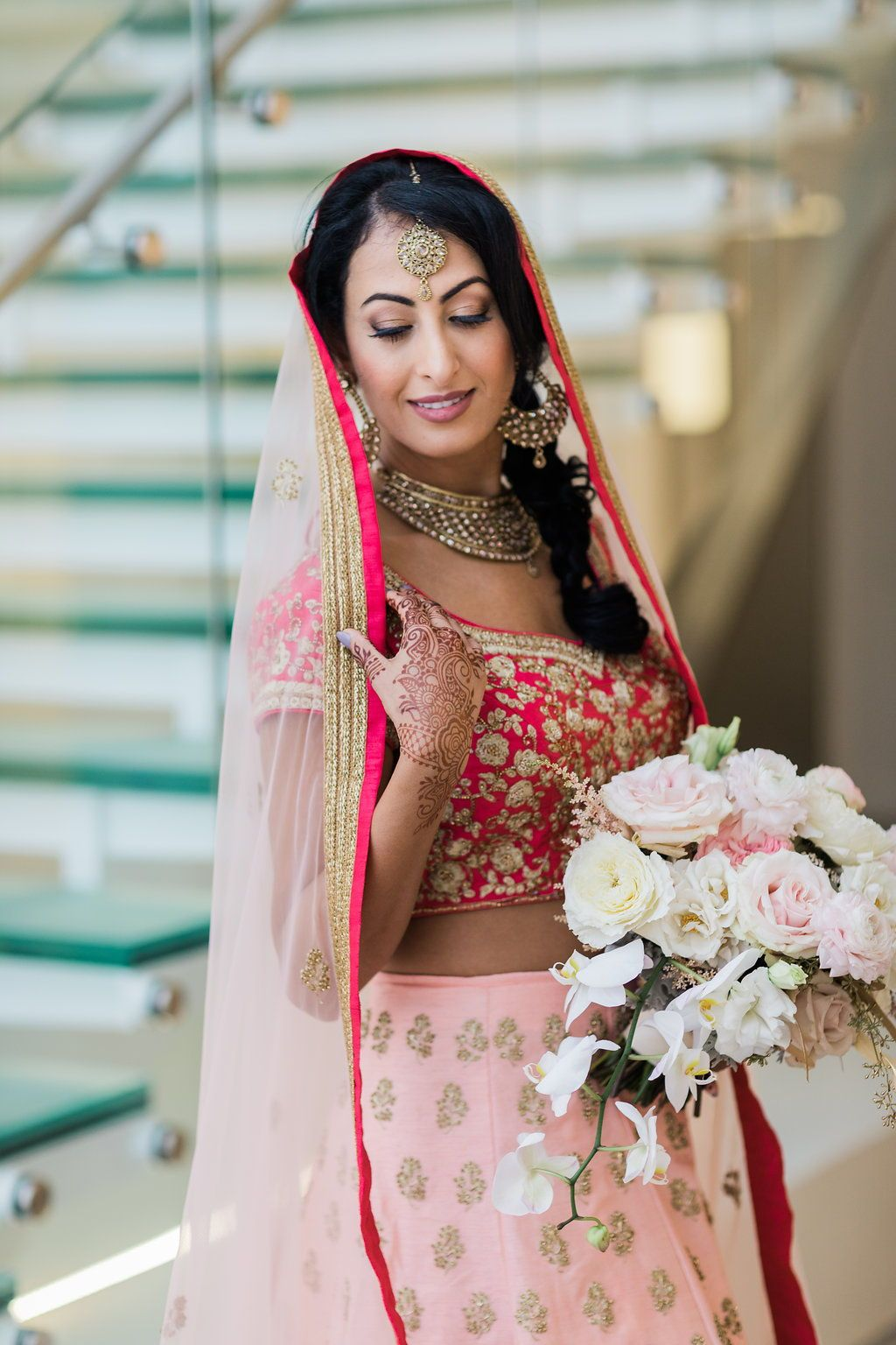 Nontraditional south asian wedding at chez event space in chicago