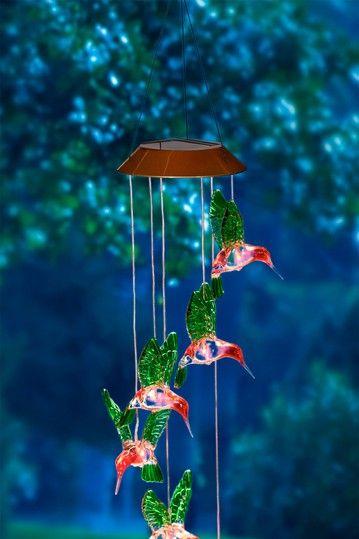 Painted Hummingbird Solar Mobile