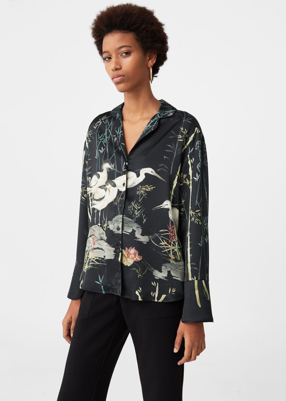 89cbb5ca05aa8b Printed shirt - Woman