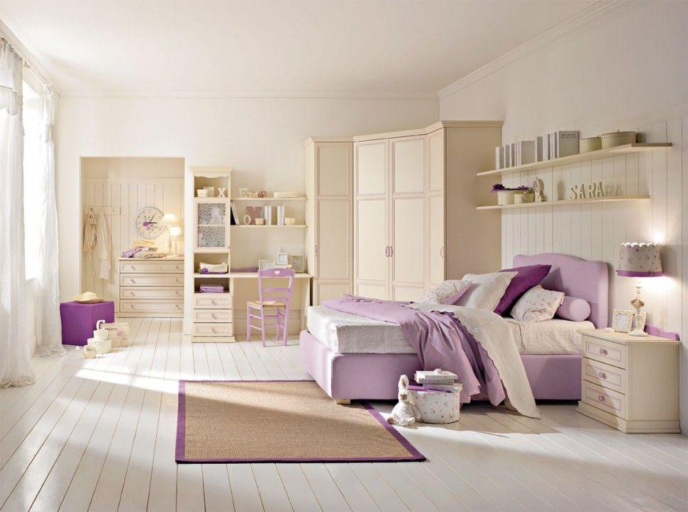 Camerette Arcadia | Letto in Bucaneve | Colombini | room ideas ...