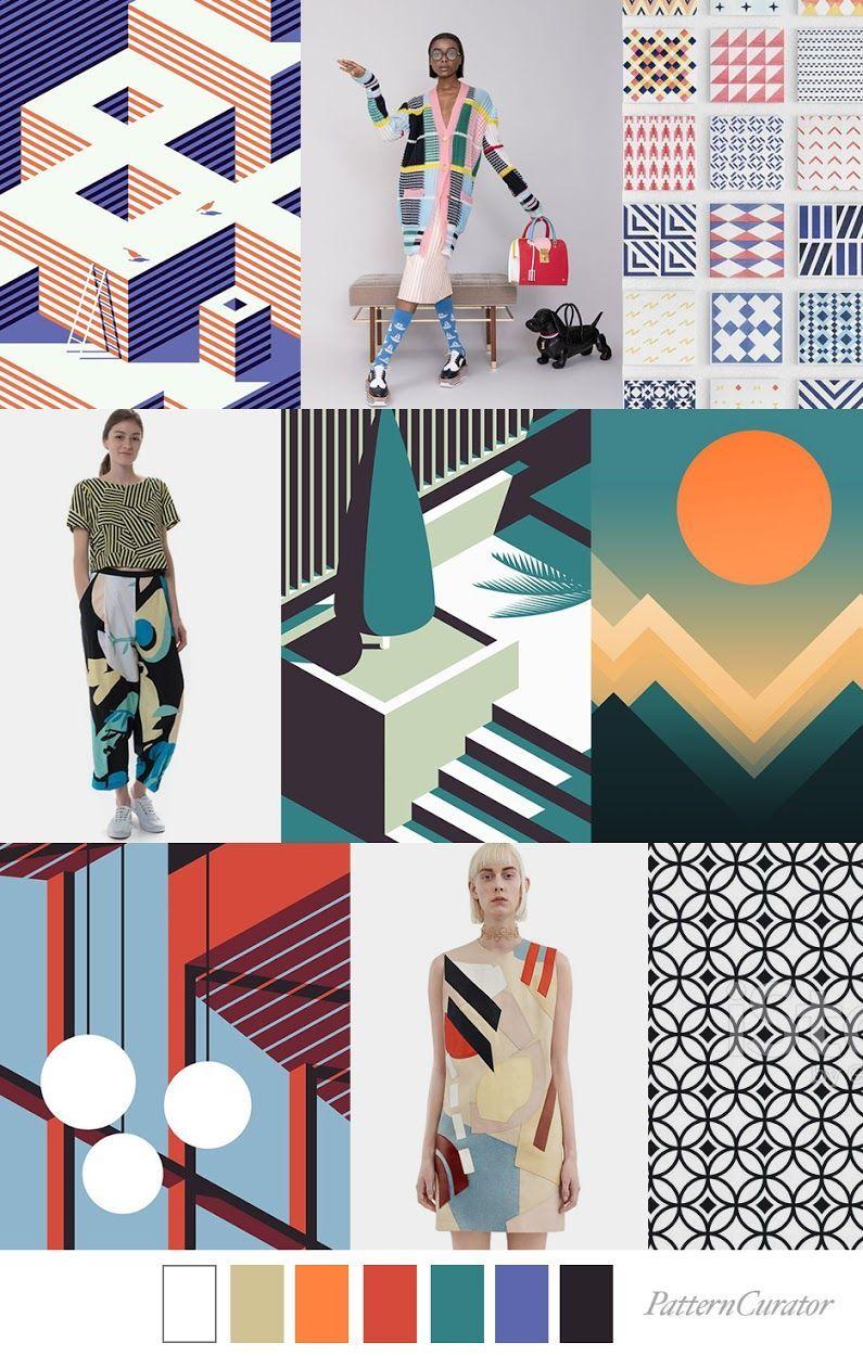 Trend Pattern Fashion Color Trends Fashion Design