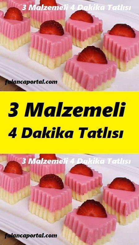 3 Malzemeli 4 Dakika Tatlısı #marshmallows