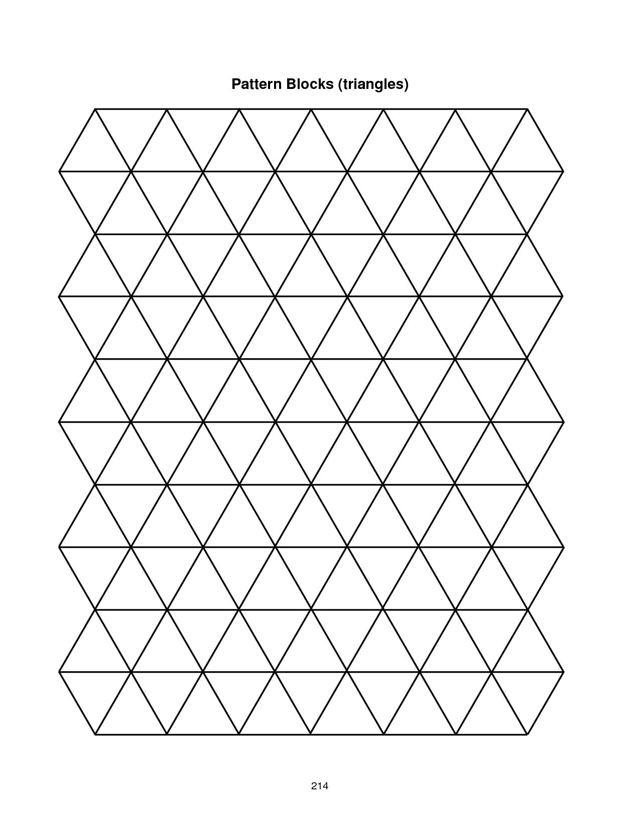 Pattern Block Template
