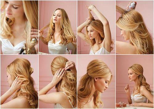 Tolle Frisur zum nachmachen