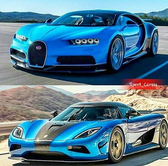 Sw Sports Car Koenigsegg Toyota: Chiron Or Agera R ?