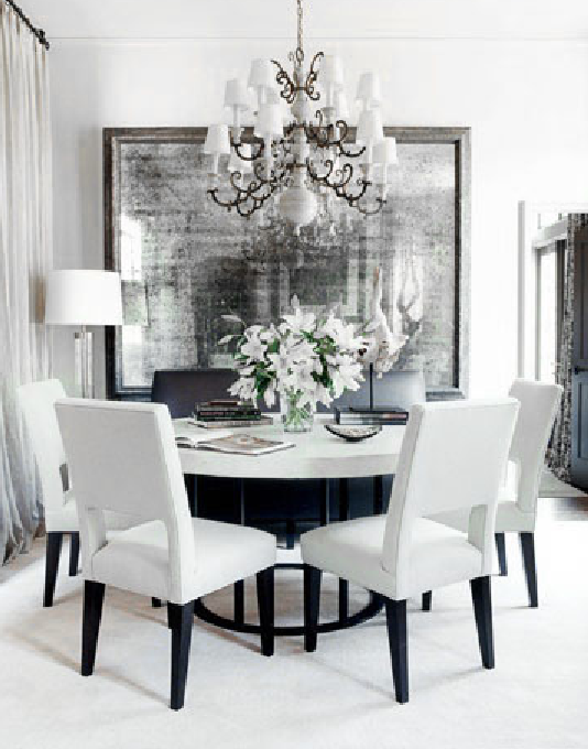 Dove Gray Home Decor White And Grey Dining Room Dining