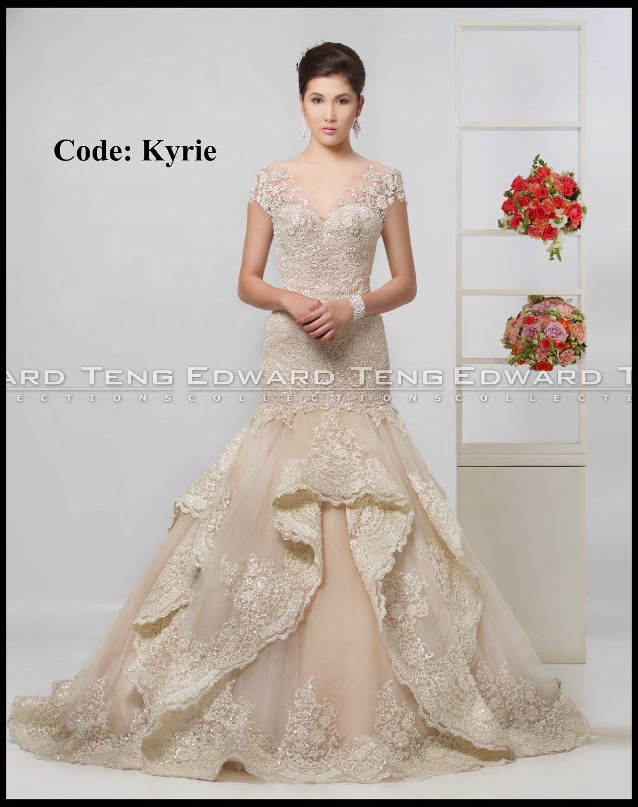 edward teng gown | philippines wedding gown designer | Pinterest ...