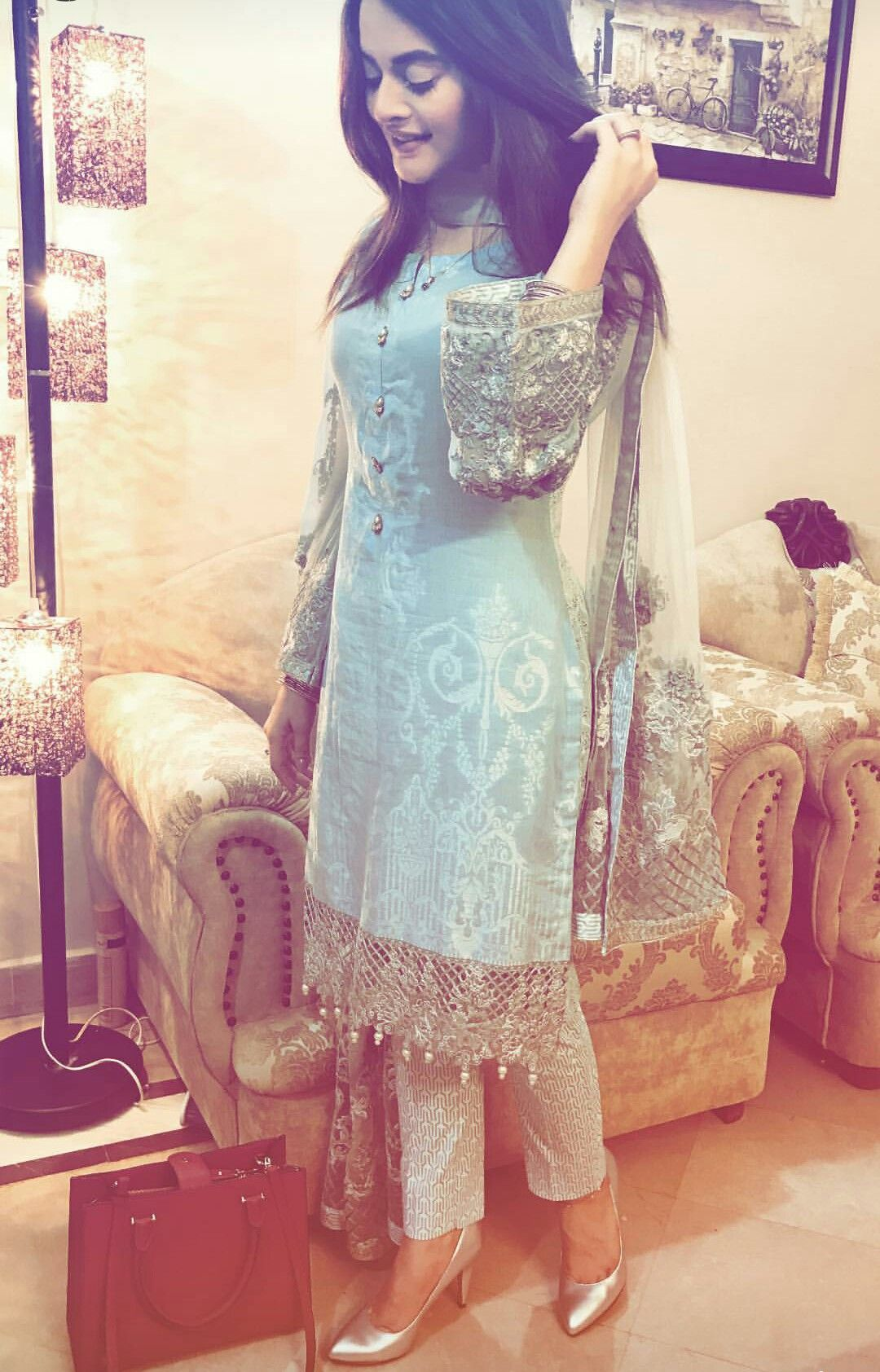 Minal Khan Pakistani Outfits Pakistani Dresses Indian