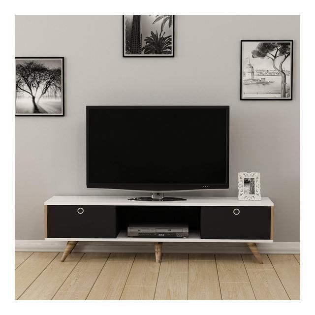 Zeyn Wood TV Stand 150 x 35 x 41 cm, #wood #Mobile …