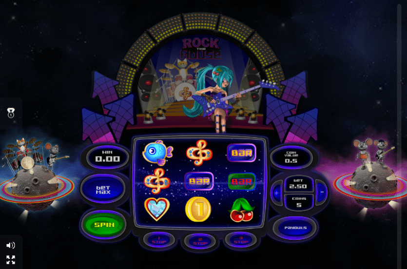 Rock The Mouse GameOS Slot Game