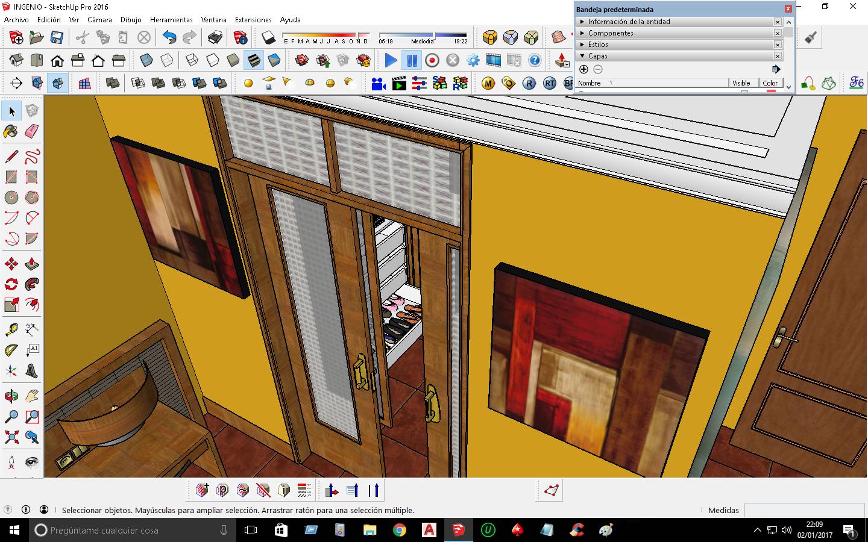 Excepcional 3d Software Libre Diseño De La Cocina Componente - Como ...