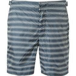 Photo of Orlebar Brown swim shorts men, microfiber, blue Orlebar Brown