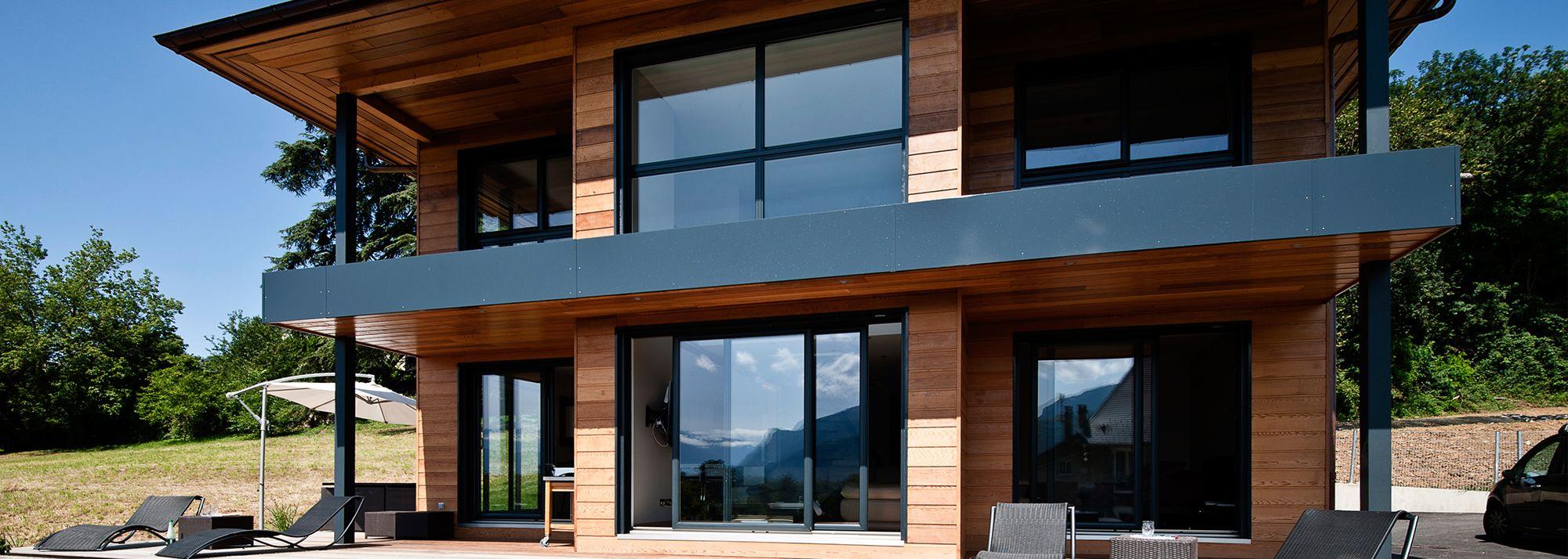 Scmc maisons ossature bois savoie maisons ossature bois haute maison bois en 2019 for Constructeur chalet prix