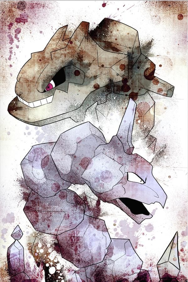 Fan made new Onix / Steelix evolution artwork! (Pokemon) Video