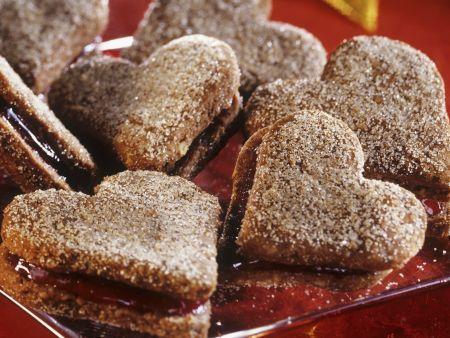 Rezept: Zimt-Marmelade-Herzen