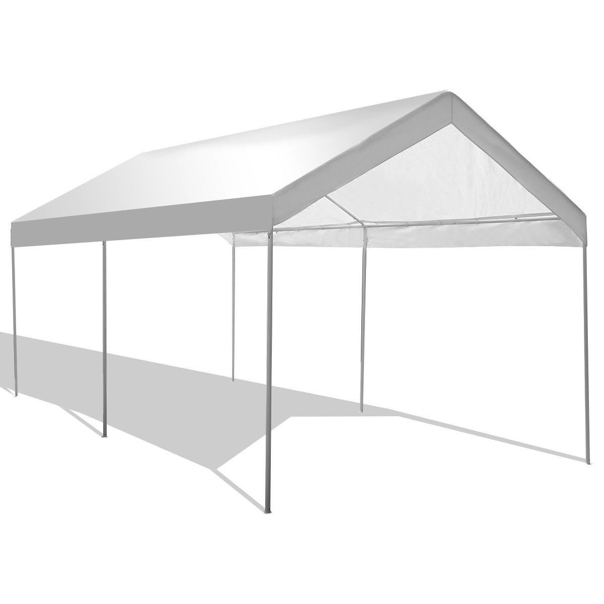 10 X 20 Steel Frame Portable Car Canopy Shelter With Images