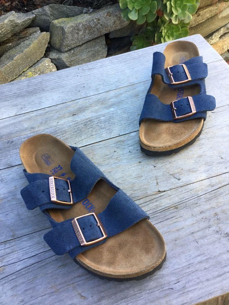 eaab7794f55c4b  135 Birkenstock Arizona Navy Blue Suede Sandal 37 Wmn 6 men 4 Narrow   fashion  clothing  shoes  accessories  womensshoes  sandals (ebay link)