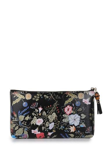 da7342bc914ab3 Gucci Flora Knight Clutch in Floral (black) | Lyst | My obsession ...