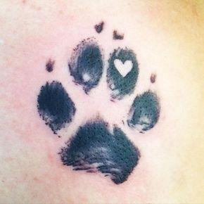 15 Coolest & Unusual Paw Print Tattoo Designs | Dog ...