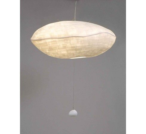 Nuage suspension co design en papier japonais - Lustre en papier ...