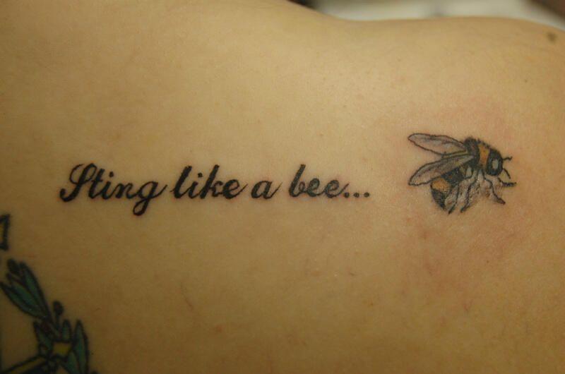 Beyhive What Do You Think Terrific Tiny Tatoos Bee Tattoo