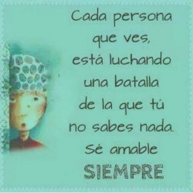 Cada persona...