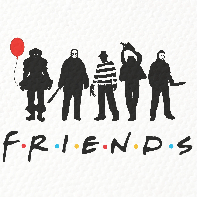Halloween 2020 Ds Poster Friends Halloween PNG, Jason Voorhees, Freddy Krueger, Horror