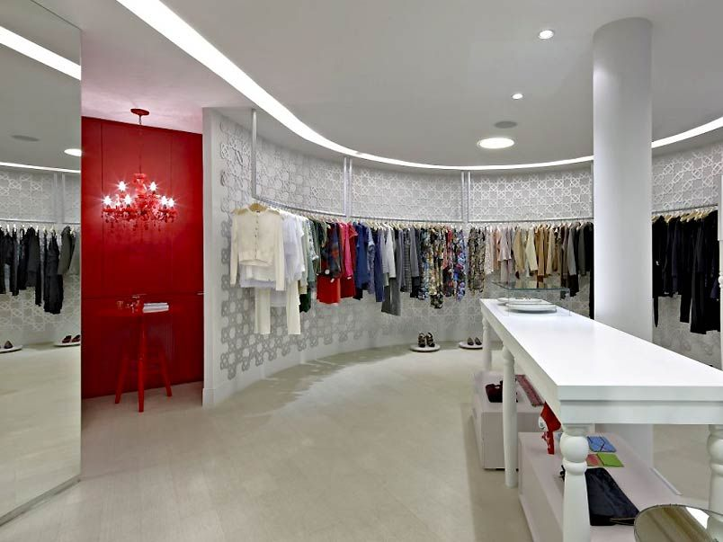 Clothing boutique interior design share boutiques for Boutique interior design