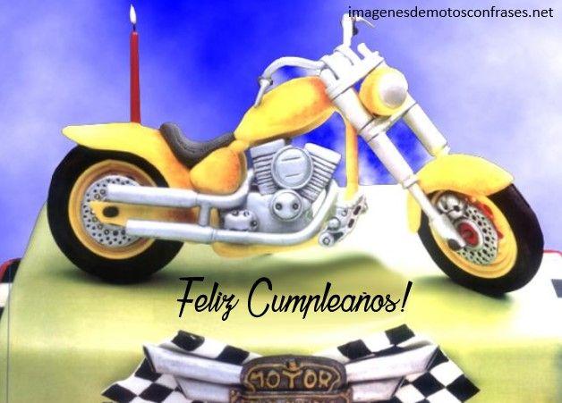 Imágenes De Cumpleaños Para Motociclistas Imagenes De