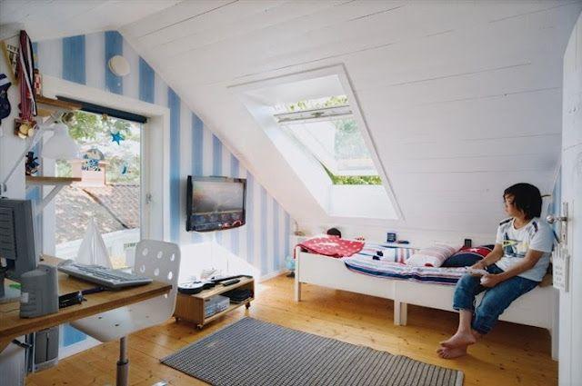 Teenage Boys Rooms Inspiration 29 Brilliant Ideas Teenage Boy Room Small Attic Room Small Room Bedroom