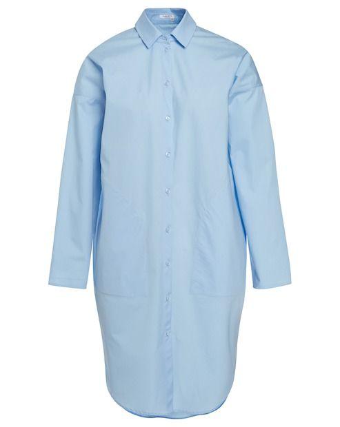 Amorph Hemdbluse LONGBLOUSE - hellblau Jetzt auf kleidoo.de bestellen!  #kleidoo #shop #fashion #hemdbluse #hellblau #amorph