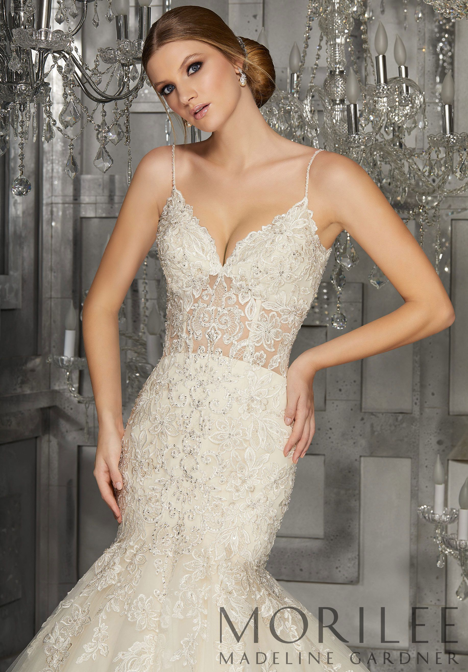 Mori lee madeline gardner wedding dress  Morilee  Madeline Gardner Mihaiia Wedding Dress Crystal Beaded