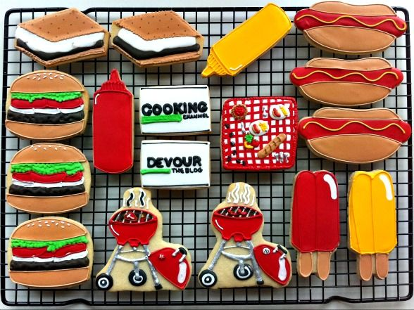 Cooking Channel Cookout Cookie Giveaway! Click through for your chance to win.